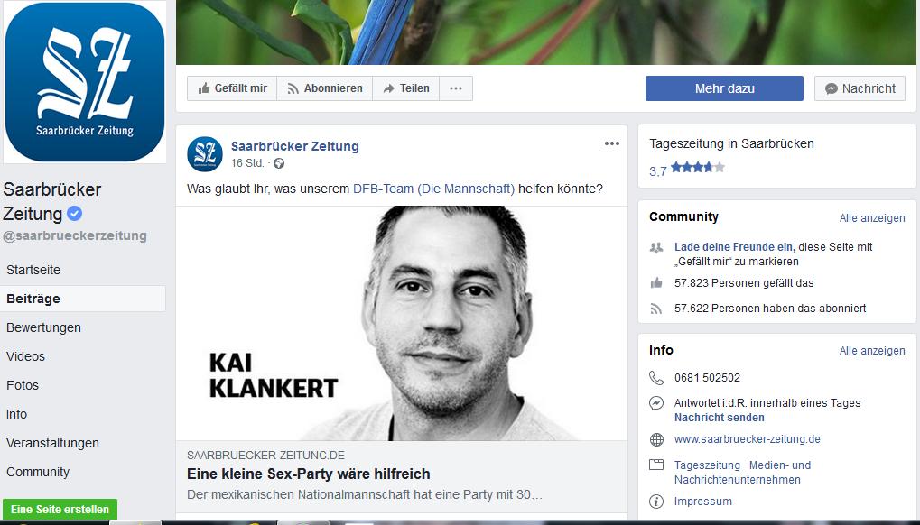 Der Gentleman der Woche: Kolumnist Kai Klankert von der Saarbrücker Zeitung