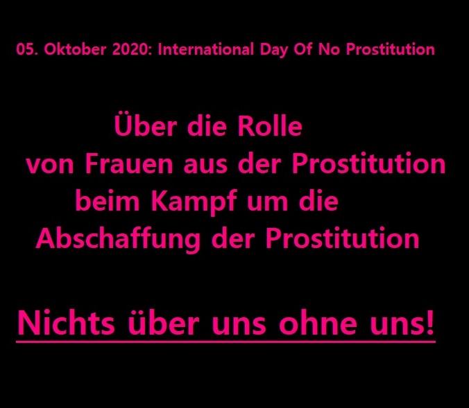 Über die Rolle der Organisationen von Überlebenden der Prostitution und Betroffenen in der abolitionistischen Bewegung